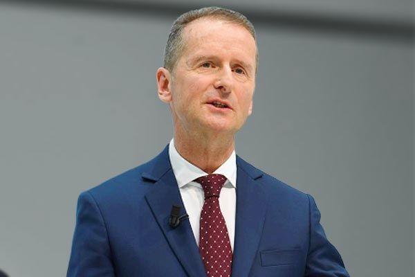 Volkswagen CEO Herbert Diess