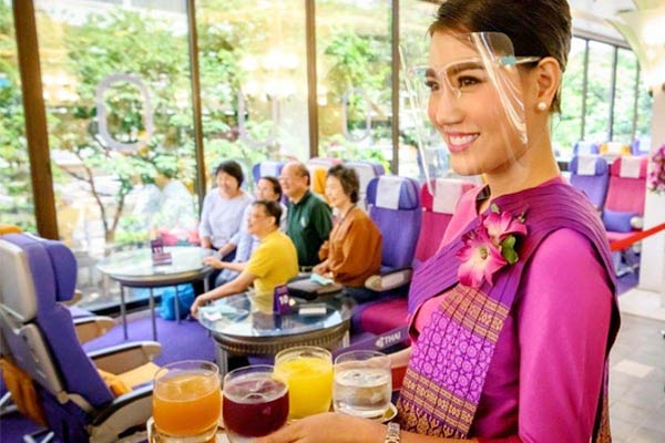 plane cafes take off in Thailand