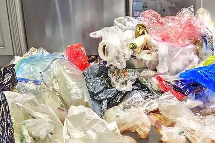 Plastic destroying enzyme