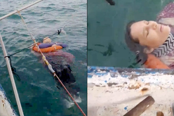 Woman who went missing 2 years ago found floating alive at sea