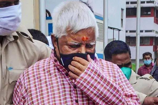 Lalu Prasad Yadav In Chaibasa Treasury Case