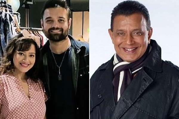 Actor Mithun Chakraborty Son Mahaakshay And His Wife Yogeeta Bali