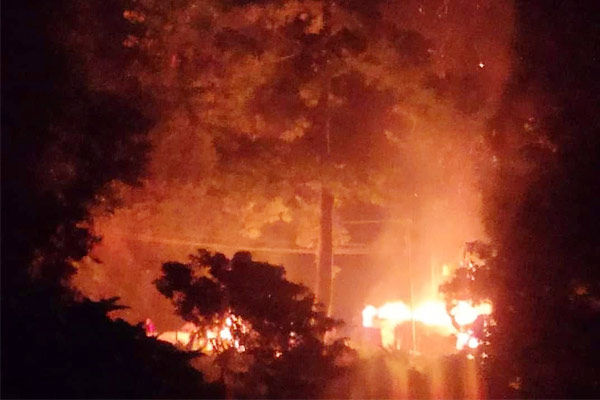 Clashes in Assam Mizoram border