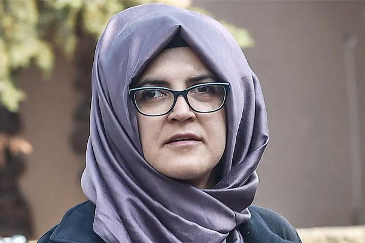Fiancee of Jamal Khashoggi sues Saudi Price