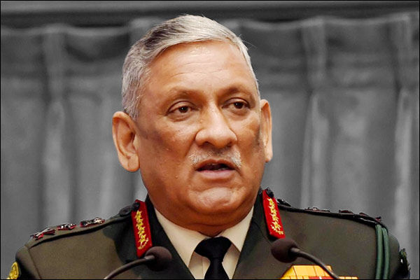 Gen Rawat asks armed forces to curb peace time activities