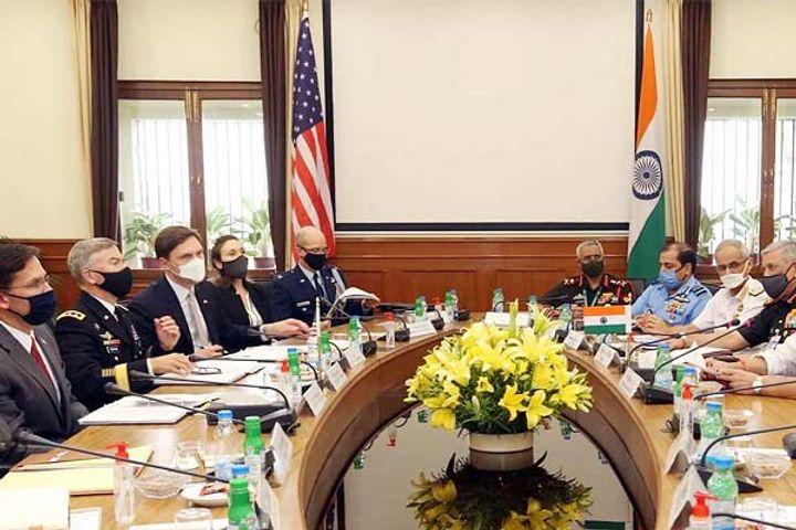 Defece pact between Indian US