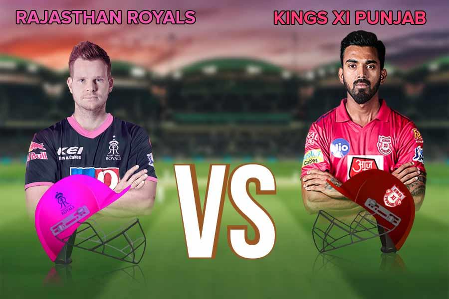 Rajasthan Royals and kings XI Punjab