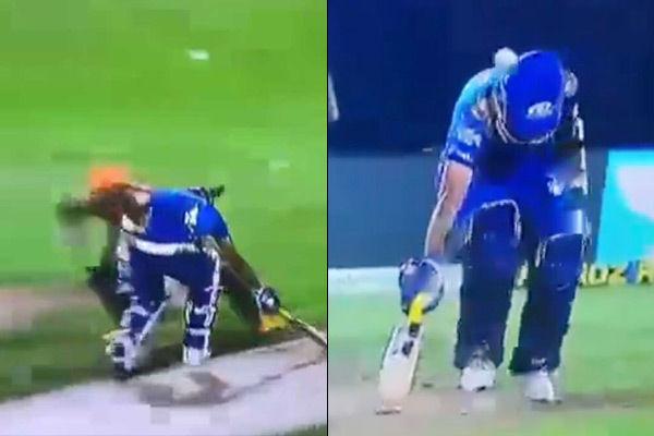 David Warner Throw Hit On Dhawal Kulkarni S Helmet In Match Against Sunrisers Hyderabad Sachin Tweet