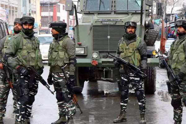 Central forces at Assam Mizoram border