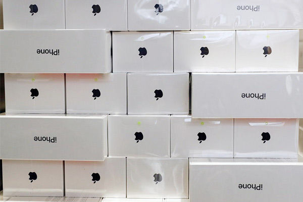 Apple products stolen