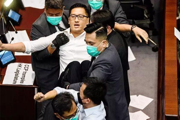 Three Former Pro-Democracy MPs Arrested By Hong Kong Police