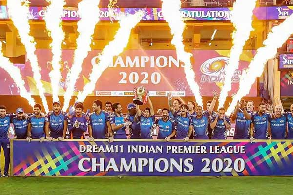 BCCI earns INR 4,000 crore from IPL 2020 TV viewership increases by 25 Percent
