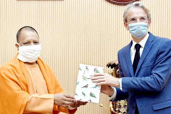 French Ambassador meets UP CM