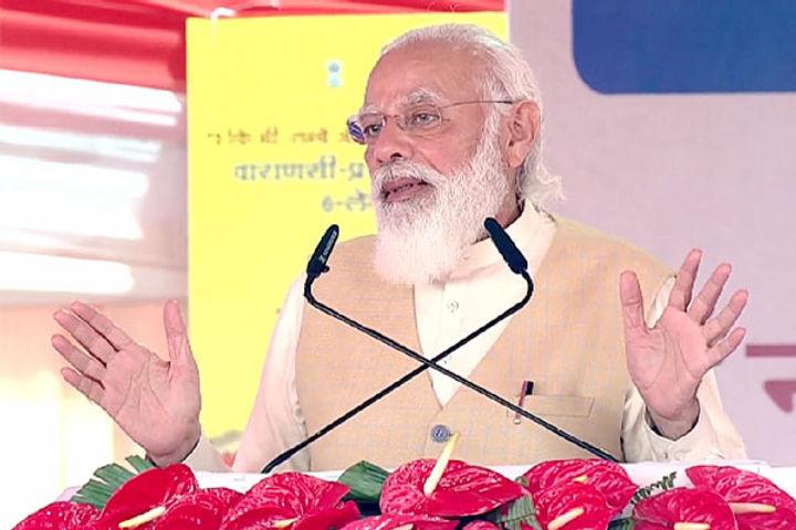Pm Modi visit in Varanasi
