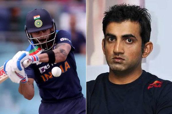 Gautam Gambhir lauds Virat Kohli for breaking Sachin Tendulkars 17 year old record