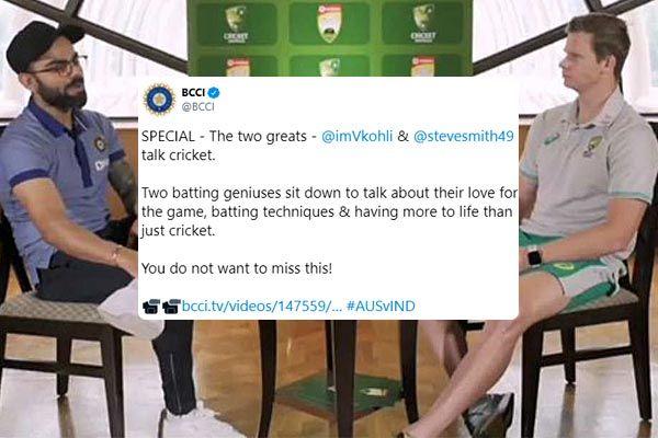 Virat Kohli on plea not to do hooting against Steve Smith