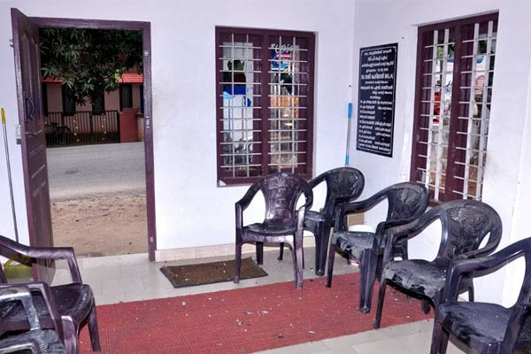 Vandalism at RSS and CPI offices