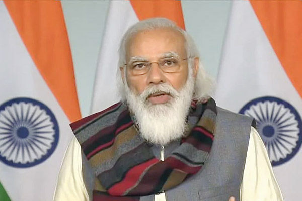 Opposition parties are intimidating farmers if their own political land is slipped: Modi spoke to fa