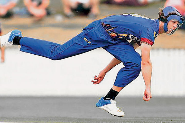 Bowler will bowl in T20 cricket wearing a helmet from next season