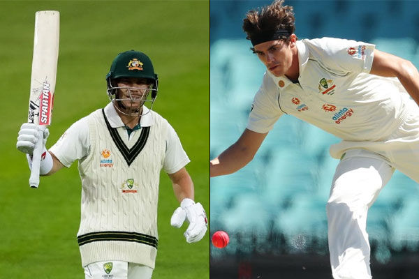 David Warner and Sean Abbott will not play in second test Shami advised to take rest for 6 weeks