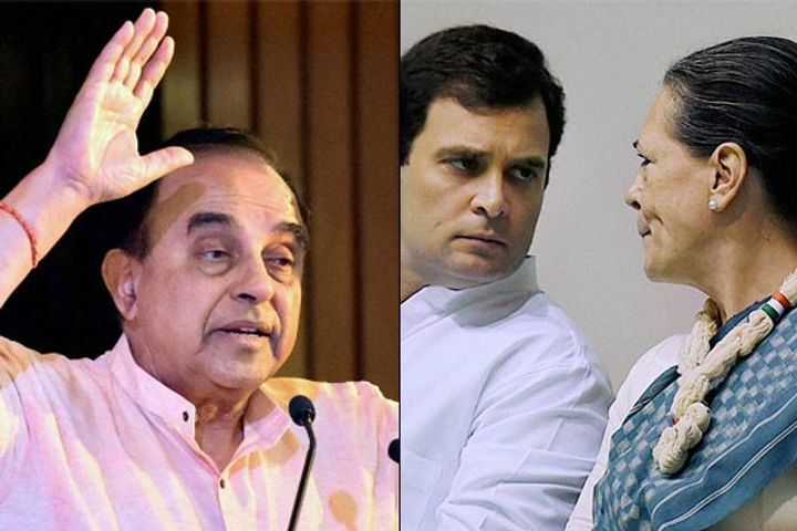 Sonia And Rahul Have Accused Subramanian Swamy Of Delaying Proceedings Of National Herald Case