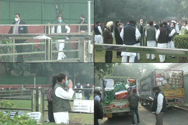 Today Rahul will march from Vijay Chowk to Rashtrapati Bhavan