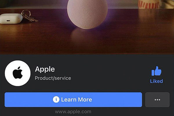 Facebook removes Apple's blue tick page verification as the feud between the tech giants