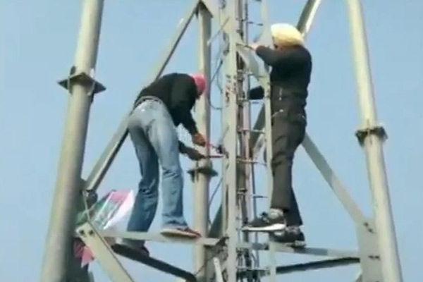 Mobile Phone Towers Vandalised In Punjab