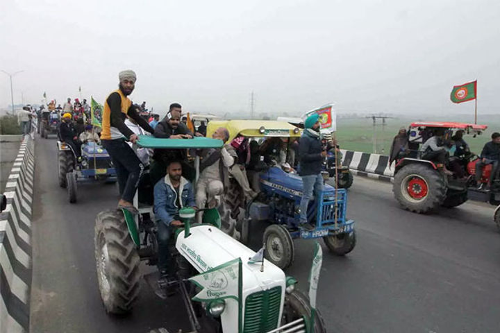 Centre on Tractor Rally