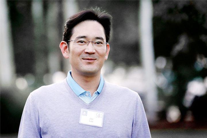 Samsung heir jailed