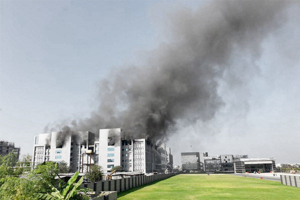 Pune Fire at Serum Institute of Indias plant Covishield facility not affected say reports