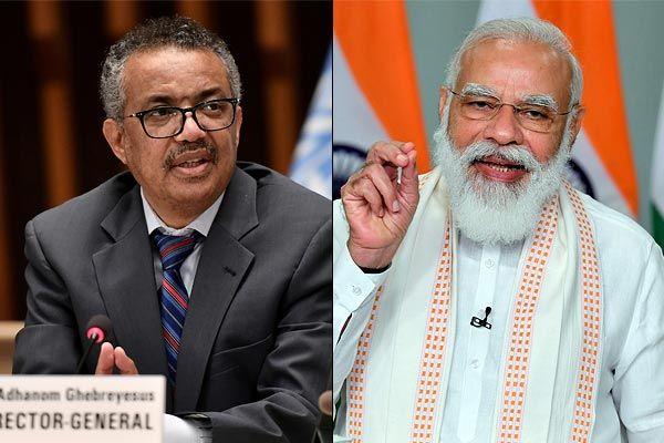 Thank you India and PM Narendra Modi says WHO chief Tedros Adhanom Ghebreyesus