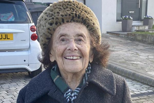 97-year-old Auschwitz survivor recovers from Covid