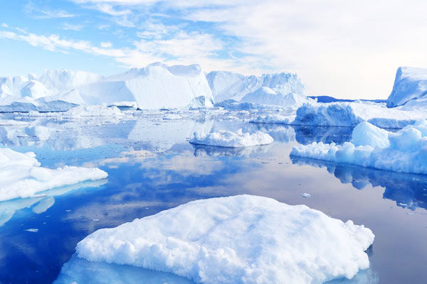 Earth lost 28 trillion tonnes of ice