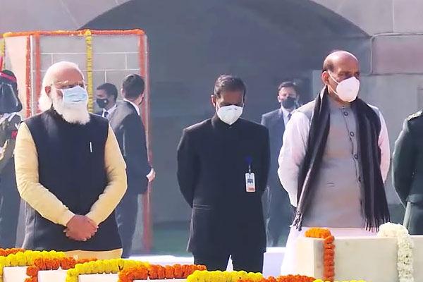 Mahatma Gandhi Death Anniversary: PM Modi salutes Bapu when he reaches Rajghat