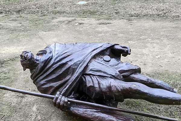 Mahatma Gandhi Statue Vandalised In California