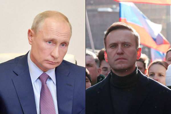 Protests against Navalnys arrest US condemned Russia said do not interfere in internal affairs