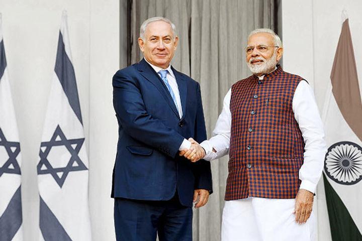 PM Narendra Modi Spoke To Israeli PM Benjamin Netanyahu Regarding The Terrorist Attack