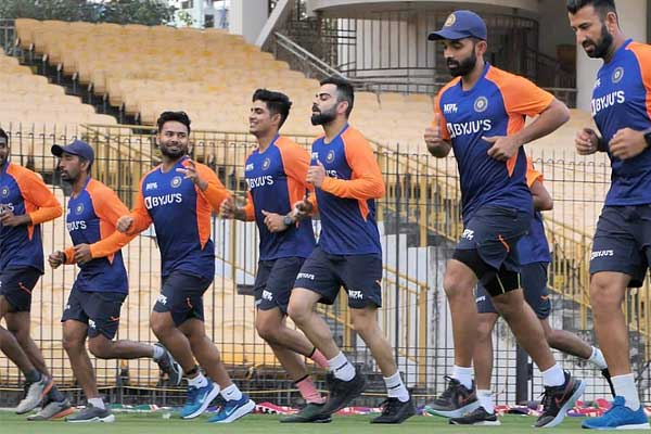 Team India quarantine period complete, now players can do outdoor training