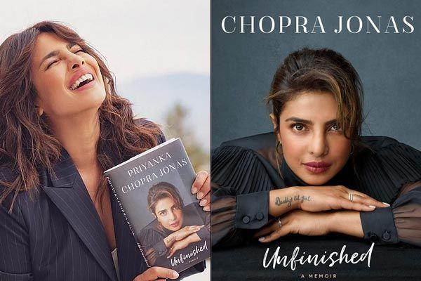 Priyanka Chopras memoir Unfinished launch