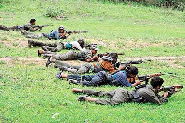 13 rewarded Naxalites including two women surrender in Chhattisgarh