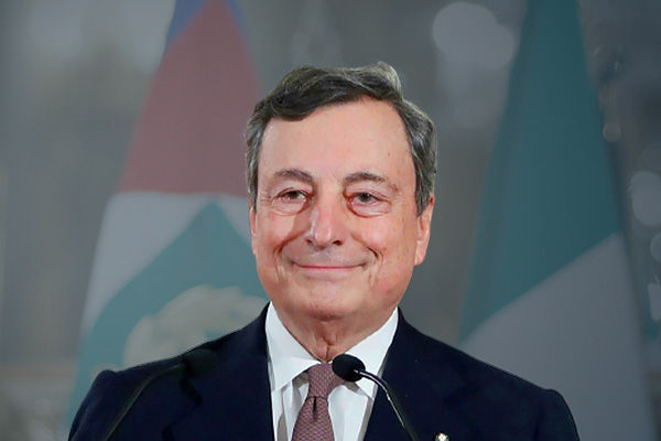 Mario Draghi becomes Italy's Prime Minister