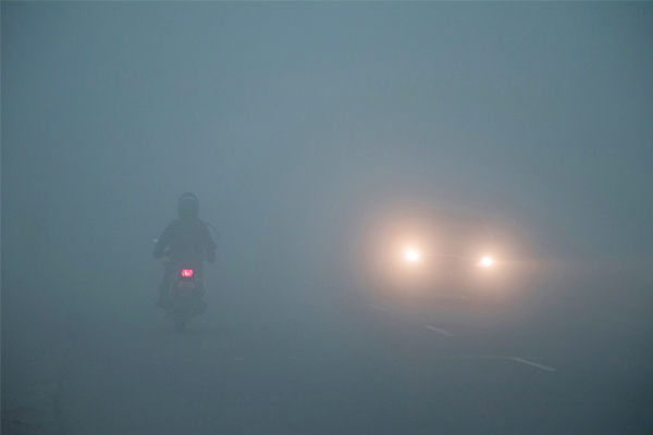 Smog in India