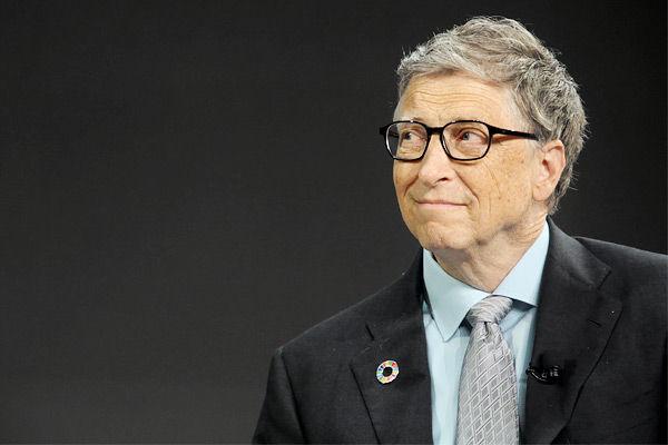 Bill Gates on synthetic tweet