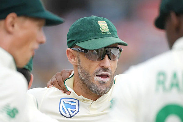 South African third most successful captain Faf du Plessis retires from Test