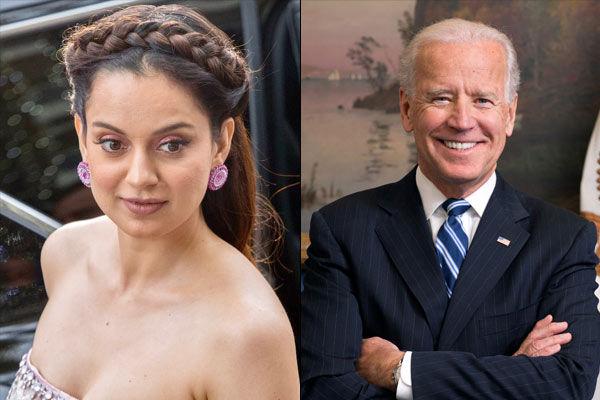 Kangana furious at Biden for praising Chinese President