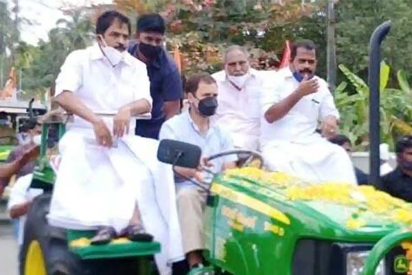 Rahul Tractor Rally