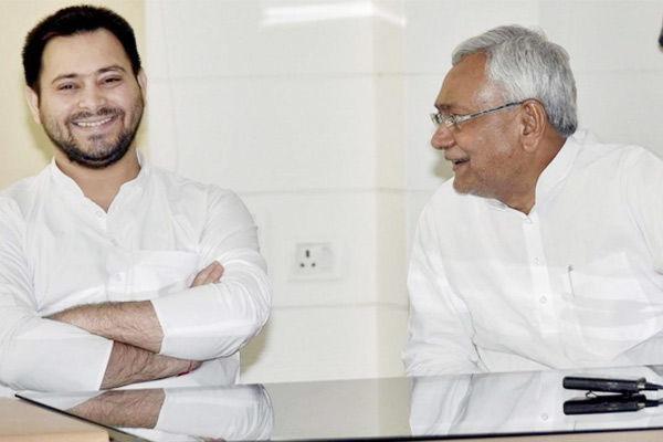 Nitish Kumar dig at Tejashwi Yadav