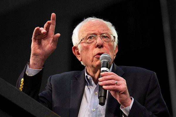 Bernie Sanders slams Israel