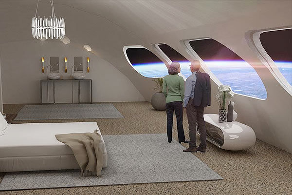 Hotel in Space